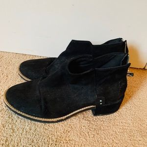 Pull & Bear black ankle booties